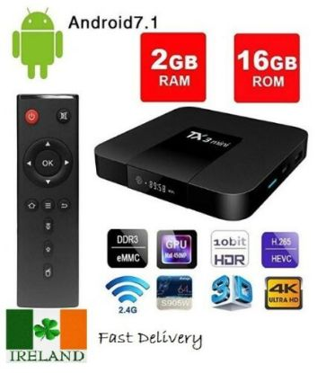 Picture of Android 7.1 Smart TV Box TX3 Mini 4K HD Quad Core Internet Media Player Streamer