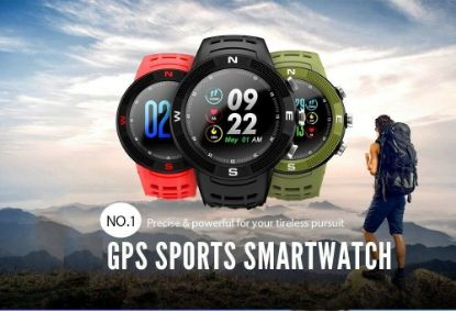 Picture of GPS Watch Fitness Tracker Sports Running Heart Rate Sport Men Watch Waterproof