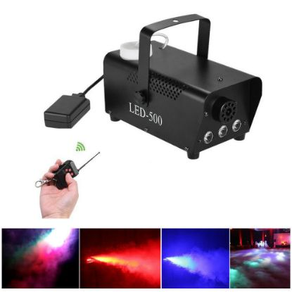 Picture of Smoke Fog Effect Machine Fogger 500 W Halloween DJ Stage Disco Party