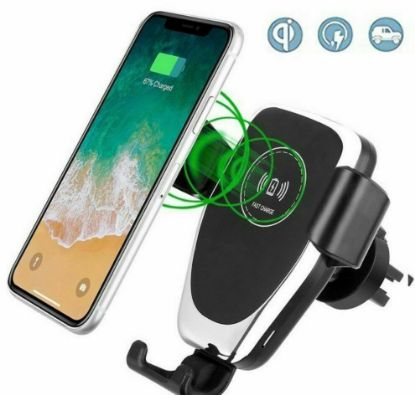 Picture of 10W QI Wireless car charger for iphone 8 PLUS X XR XS MAX fast charge Samsung s8