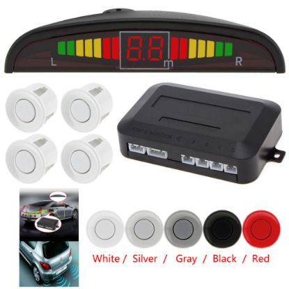 Picture of Car Parking Sensor 4 LED Kit Rear Reverse Sensors