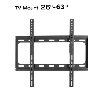 "Picture of Flat TV Wall Mount Bracket Tilt 26-32-36-38-40-42-46-50-52-55 to 63"" LED Plasma"