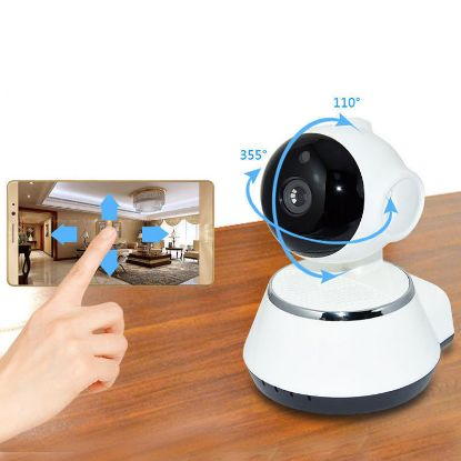 Picture of Wireless WiFi Camera HD 720p Pan Tilt CCTV Security Network IP IR Night Vision