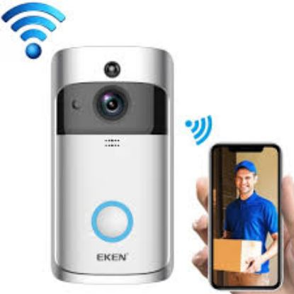 Picture of WiFi Wireless Video Door Bell Smart Home Monitoring Doorbell Night Vision