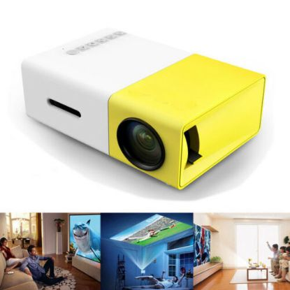 Picture of Mini Portable LED Projector 1080P HD Home Cinema Theatre System PC Laptop Phone