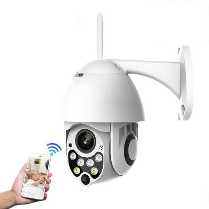 Picture of 2MP Wireless WiFi IP Camera Full HD 1080P Outdoor 5X Zoom Pan Waterproof CCTV